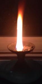 burning camphor